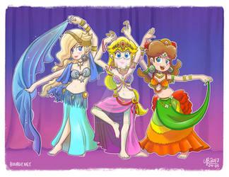 Charming Belly Dancer Princesses!