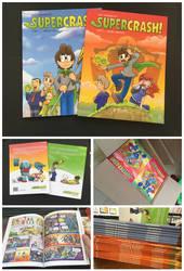 Supercrash tome 2 books GET! Part 2 by TheBourgyman