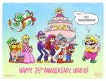 Wario 25th Wanniversary