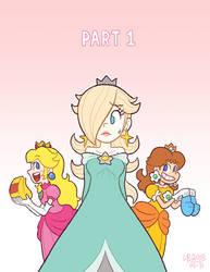 The 3 Little Princesses, title page