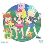 Pokemon Trainer Princesses