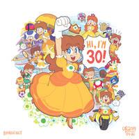 Happy 30th anniversary, Daisy!