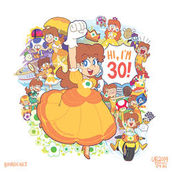 Happy 30th anniversary, Daisy! by TheBourgyman