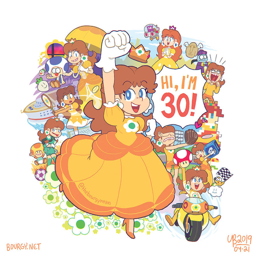 Happy 30th Anniversary Daisy By Thebourgyman On Deviantart