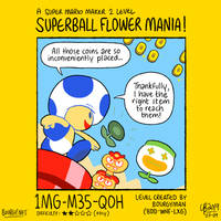 SMM2: Superball Flower Mania