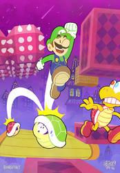 Luigi's Shell Jump-A-Thon
