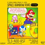 SMM2: Space Rainbow Road
