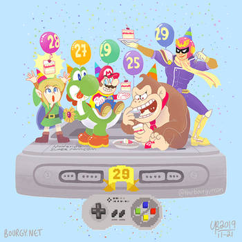Super Famicom's 29th Birthday