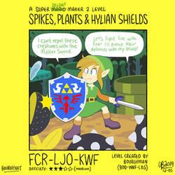MM2: Spike, Plants and Hylian Shields