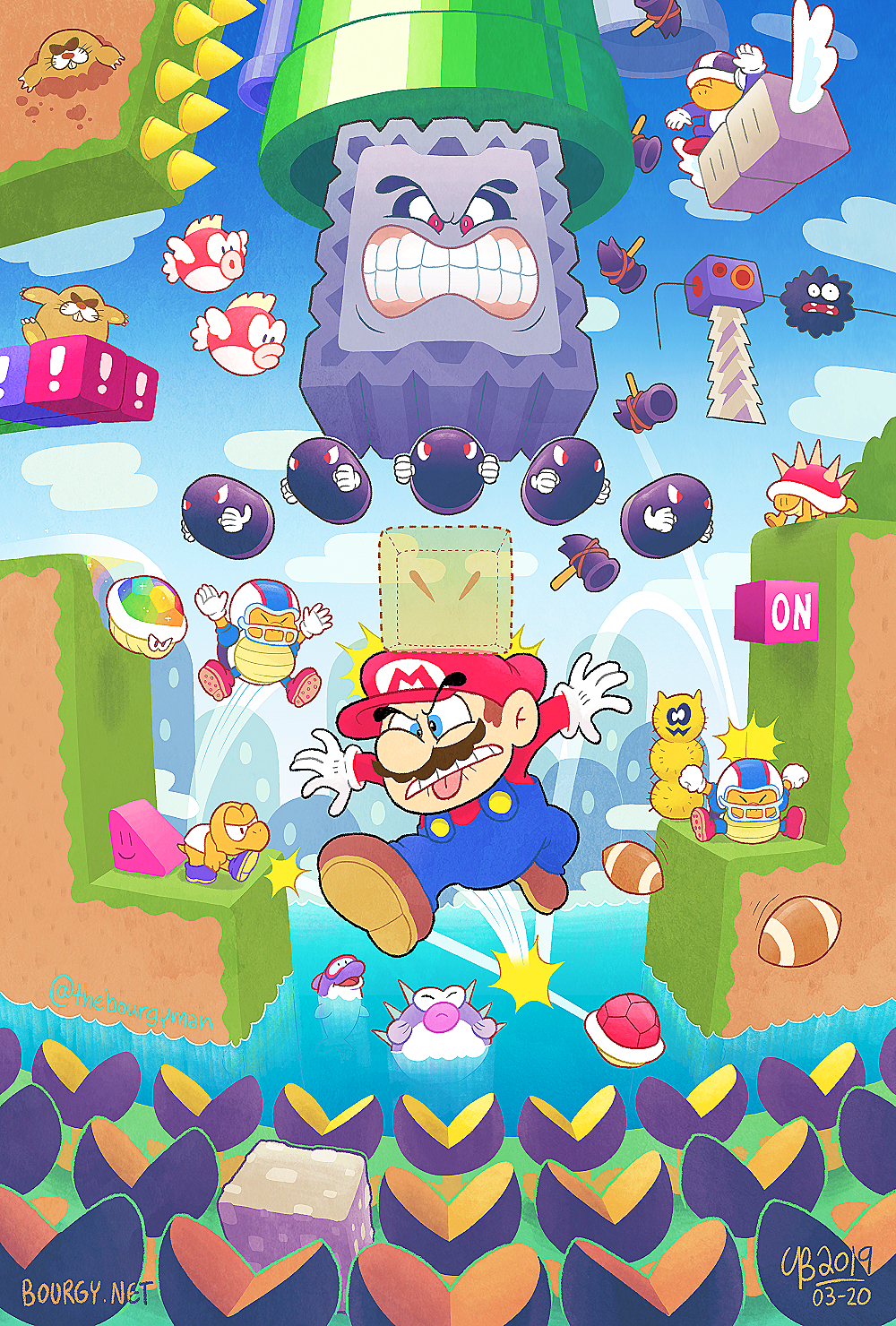 Kaizo Mario World By Thebourgyman On Deviantart