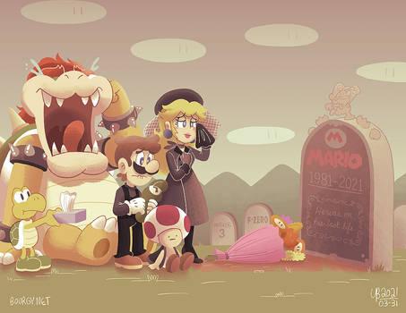 R.I.P. Mario ''Jumpman'' Mario, 1981-2021