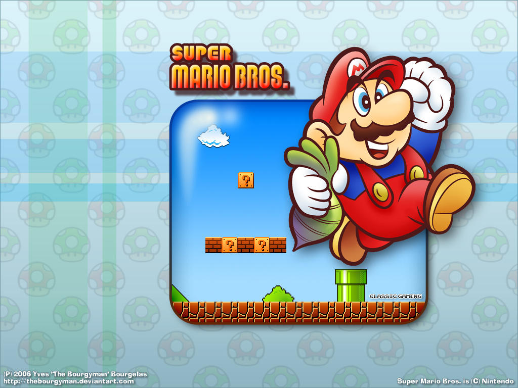 Classic Super Mario by TheBourgyman on DeviantArt