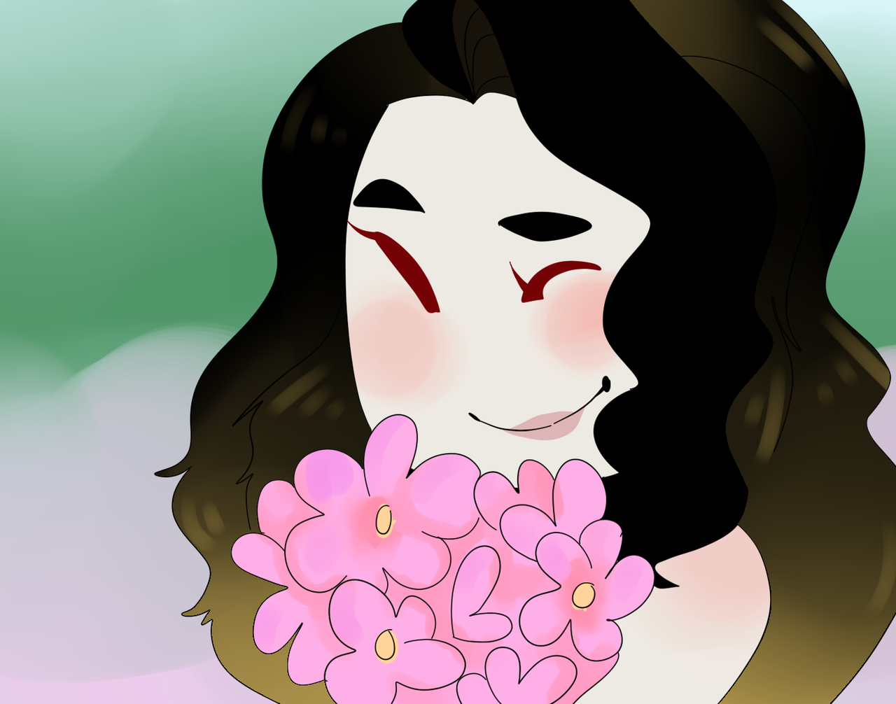Flowers by AskTheBanshee