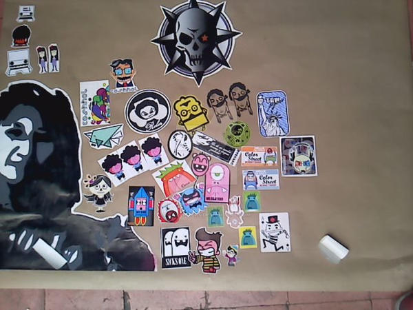 Combo stickers Toluca by Killersicks