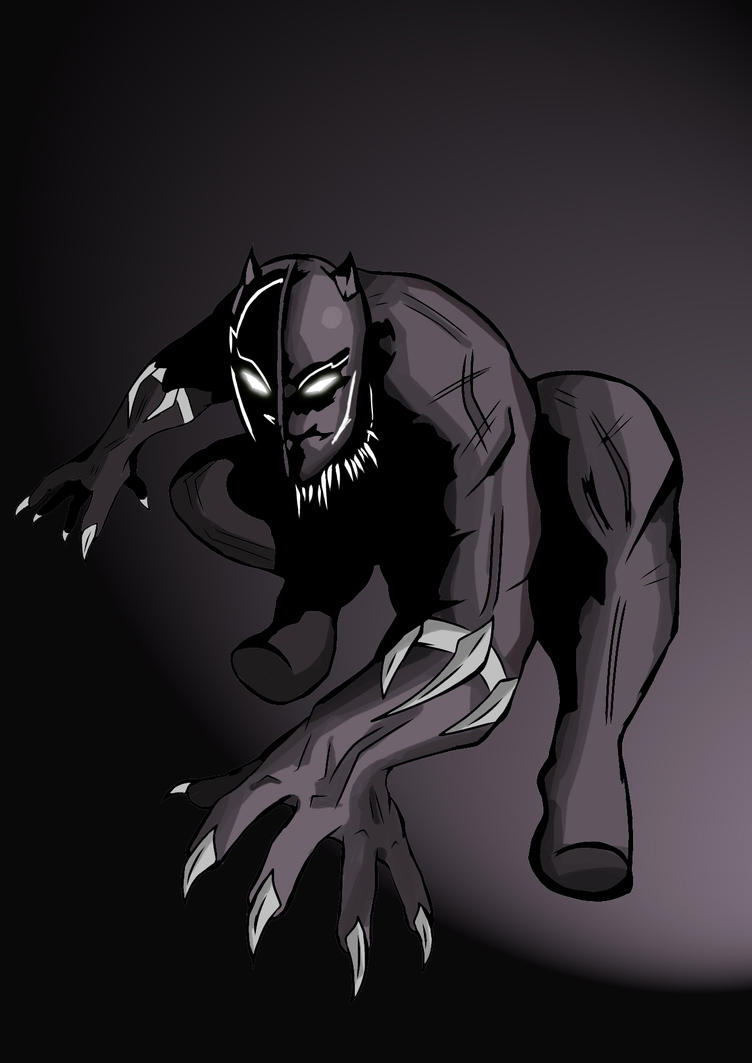 Black Panther by MuratUrazov