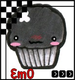 Emo cupcake avatar by little-em0