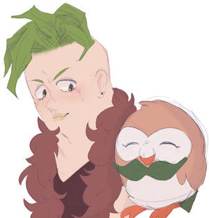 Pesci and a Rowlet bc why not
