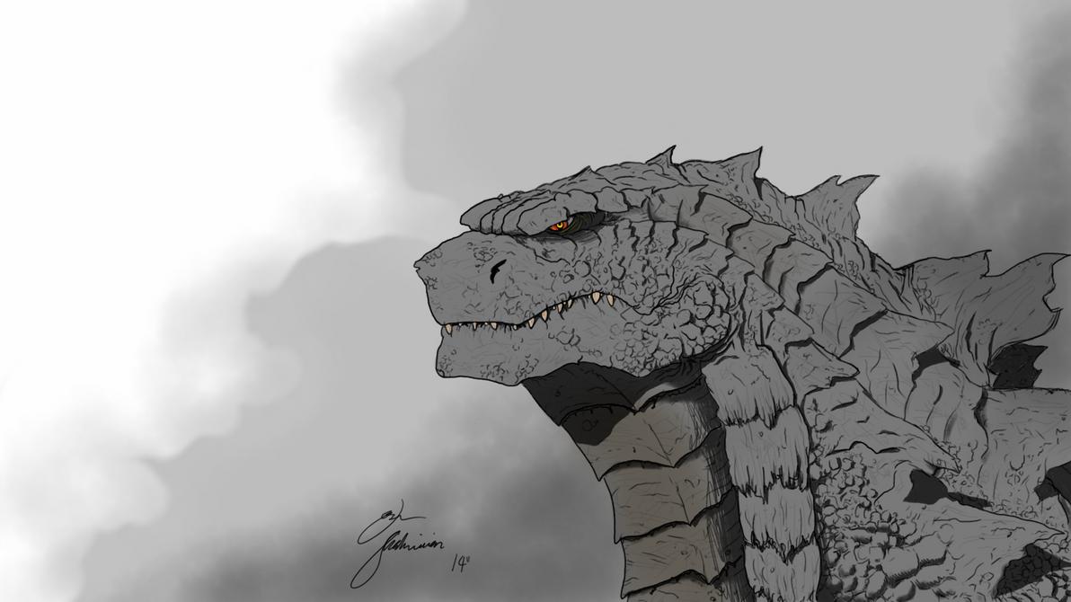 Godzilla Concept #2 by joshmalosh