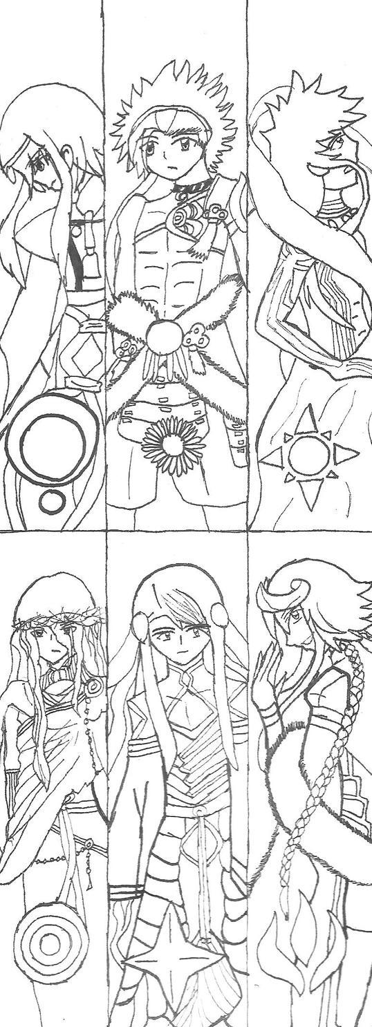 Kamigami No Asobi Bookmarks by SumomoSushi