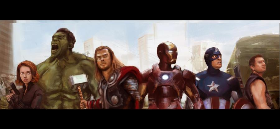 avengers by bablu81
