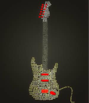 Guitar Typography