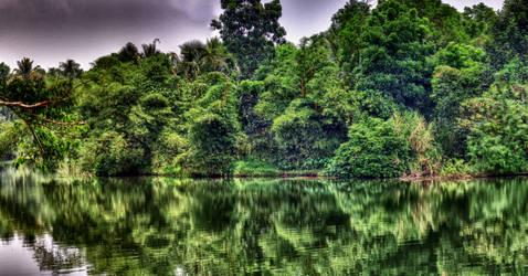 Kerala Waterscape HDR by kodereaper