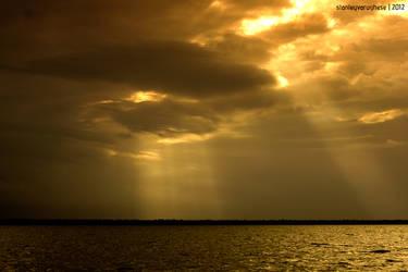 Kumarakom Sunset by kodereaper
