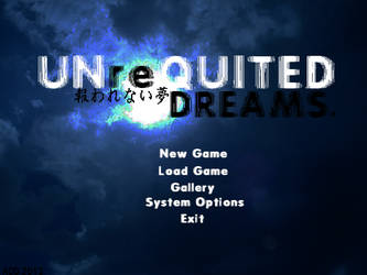 Unrequited Dreams: Titlescreen (WIP) by H0m3R0W