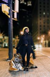 My Pet Tiger by ZirTuan