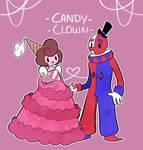 Cake wife and Clown husband