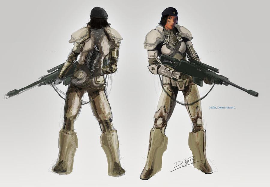 Mille Battle Suit Concept by dannieborg