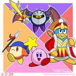 Kirby and friends