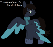 Sherlock Pony: New Look by That-One-Outcast