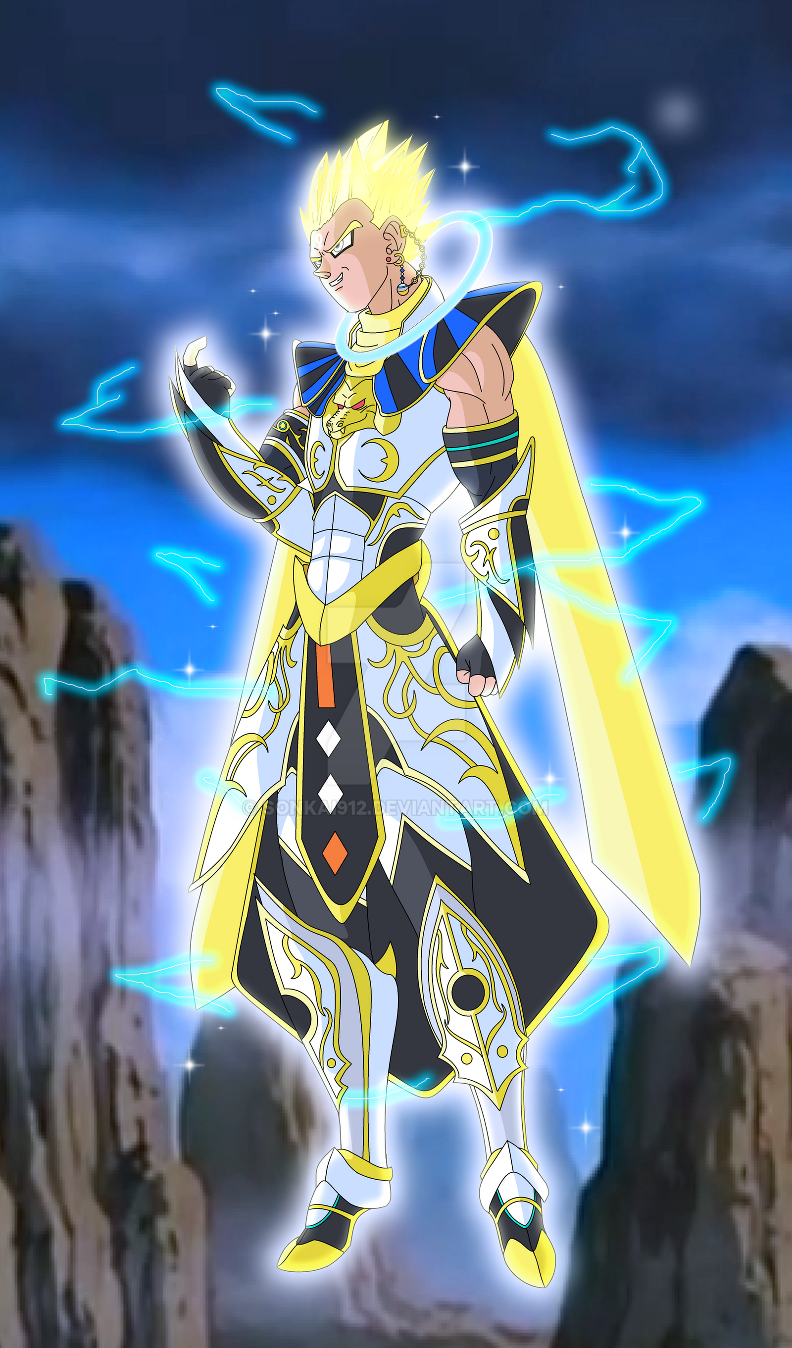 Zaito - Celestial god form by Sonkai912 on DeviantArt
