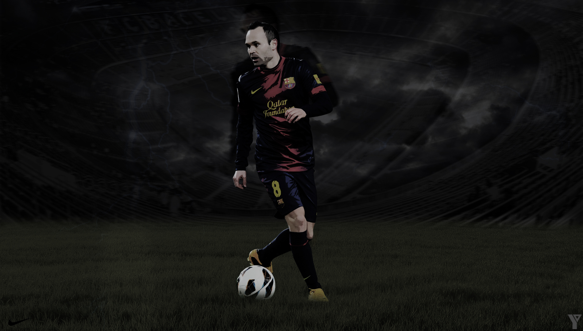 Iniesta Wallpaper
