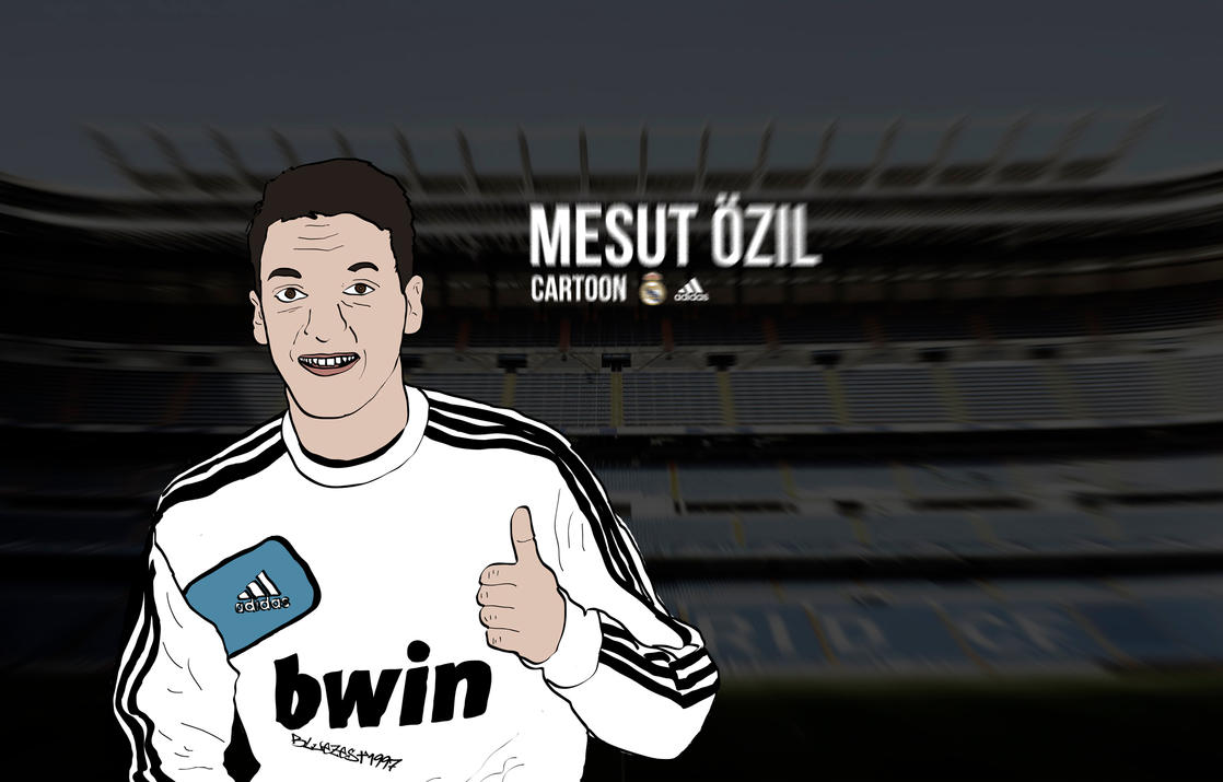 Mesut Ozil Cartoon Wallpaper By Bluezest1997 On DeviantArt