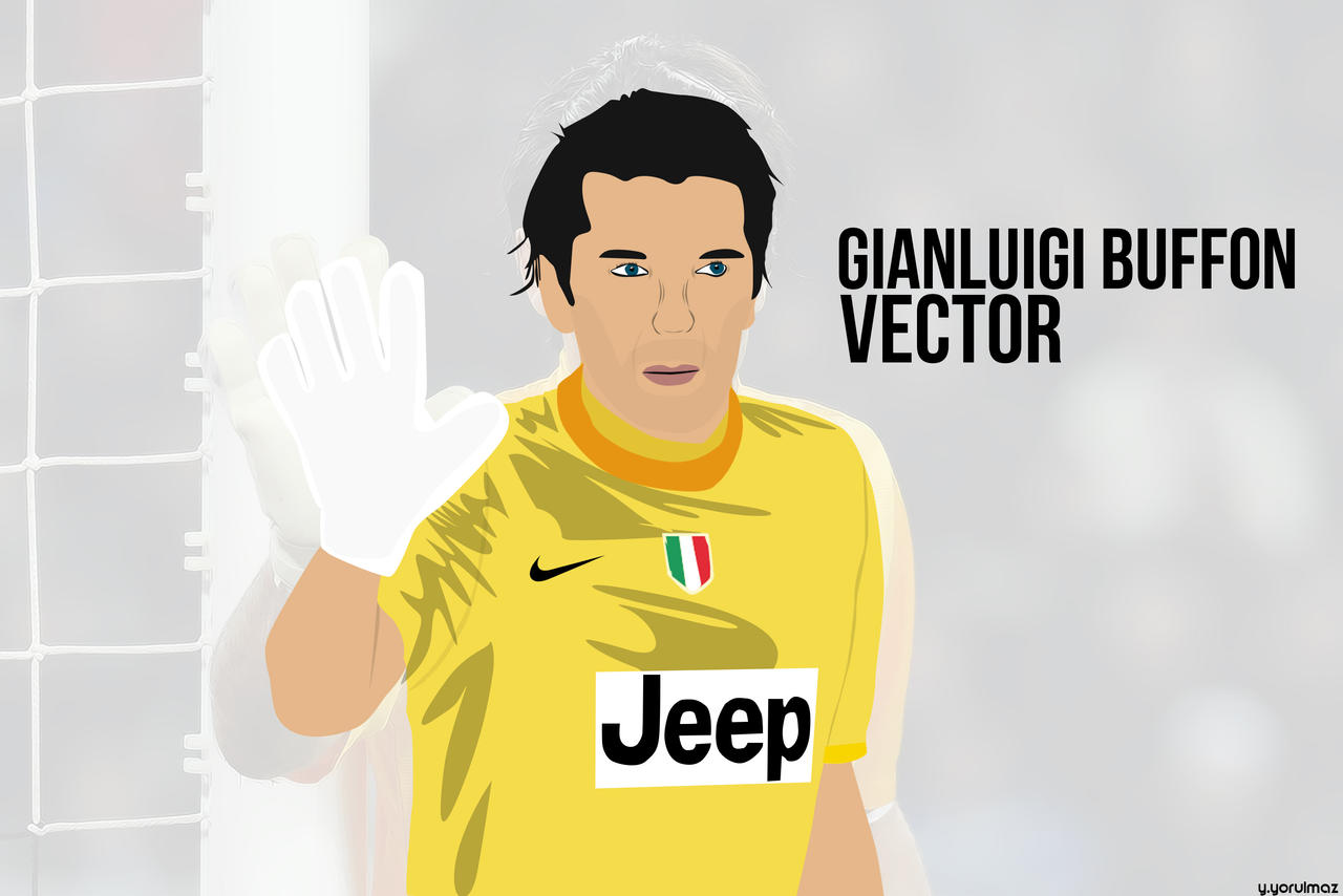 Gianluigi Buffon Vector By Bluezest1997 On DeviantArt