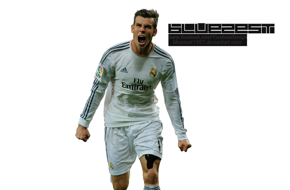 Gareth Bale Render by bluezest1997
