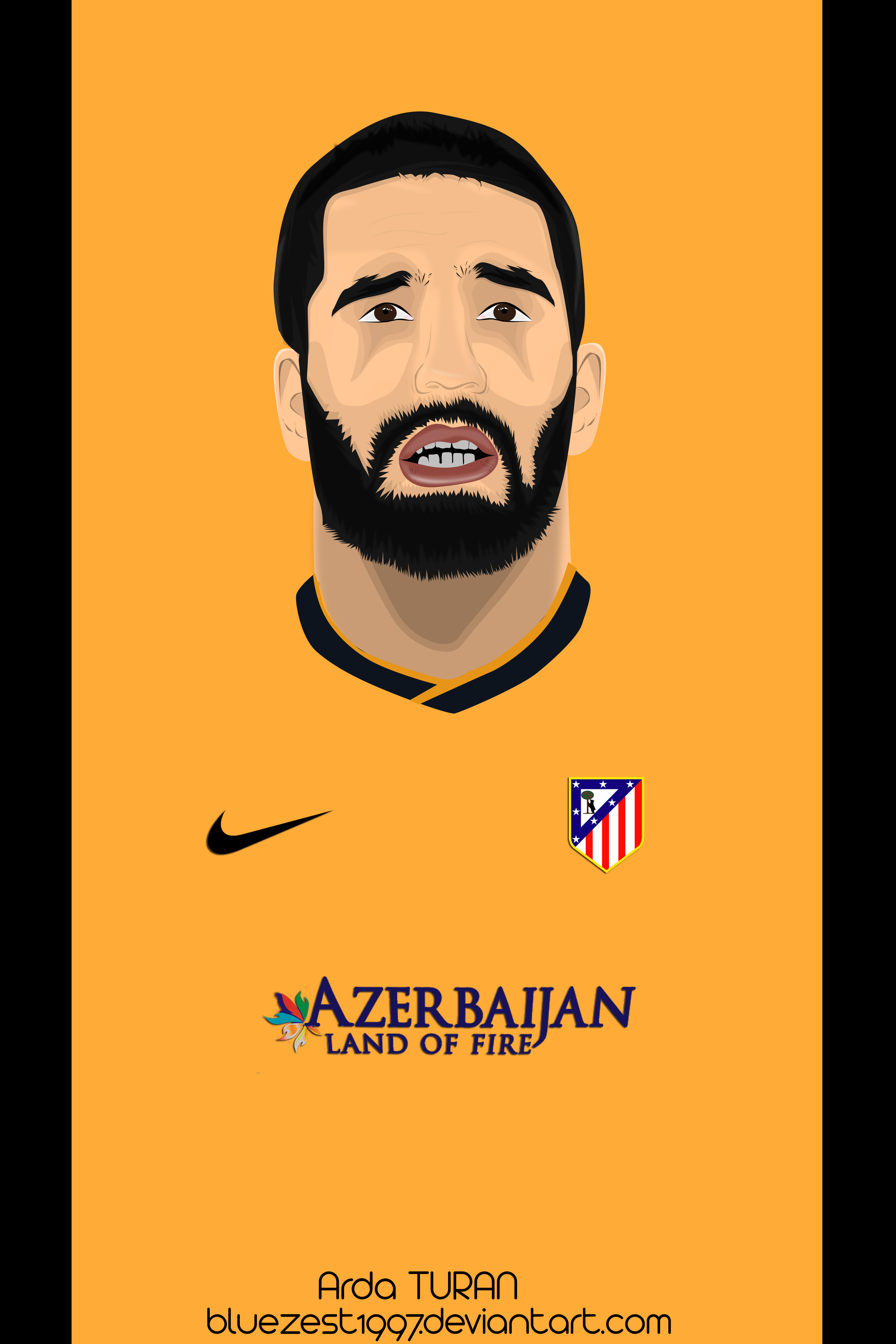 Arda Turan Vector by bluezest1997