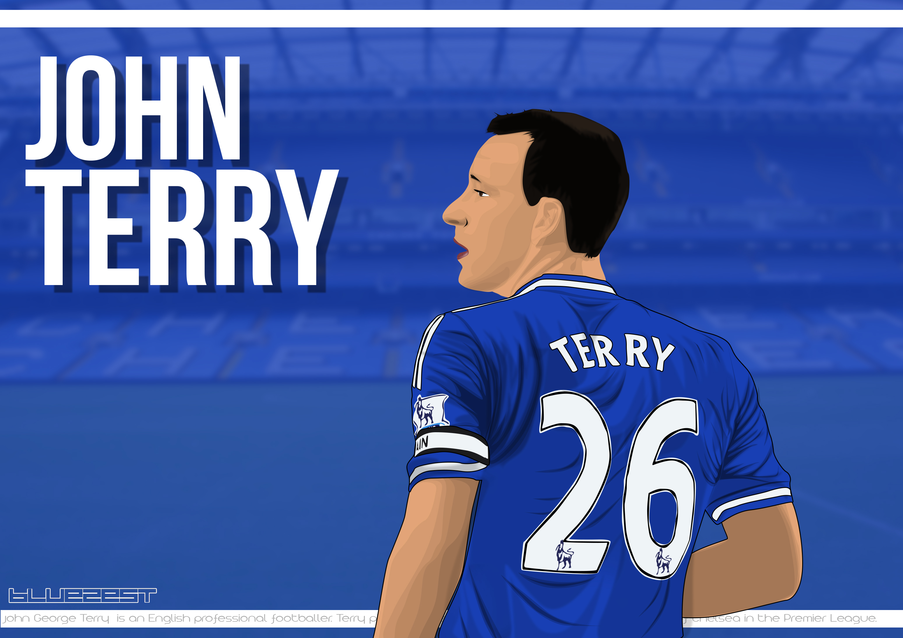 John Terry Vector By Bluezest1997 On DeviantArt