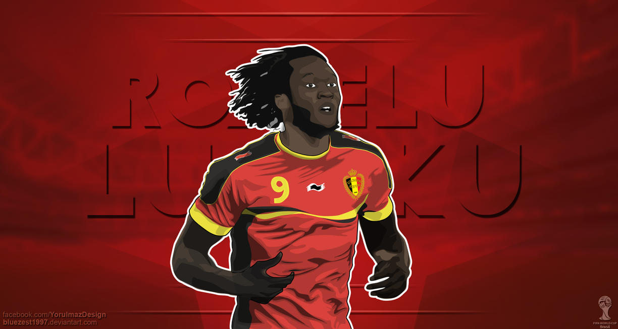 Romelu Lukaku Vector Wallpaper By Bluezest1997 On DeviantArt