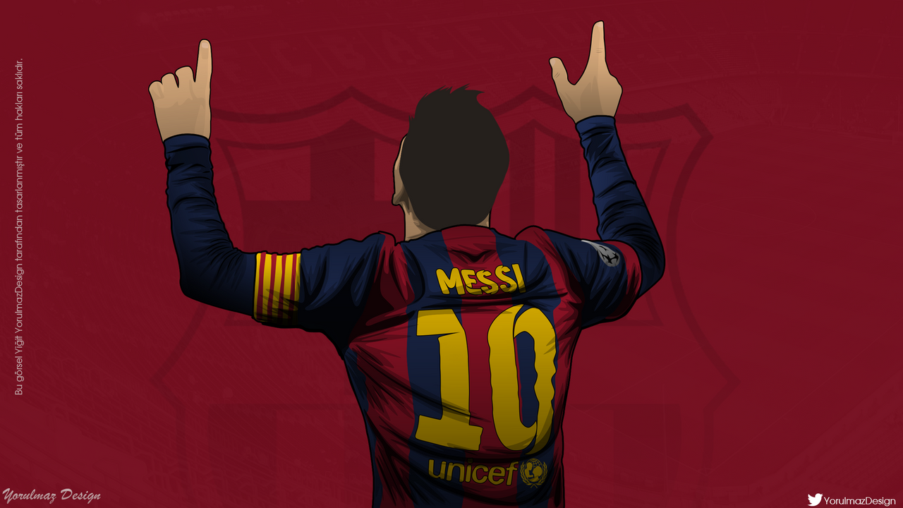 Lionel Messi Vector By Bluezest1997 On DeviantArt