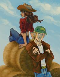 Commission - Briana and Brandon