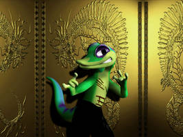 Repaired Gex wallpaper by Dracon1k