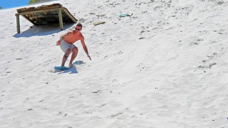 Sand Surfer by thatsvictoria