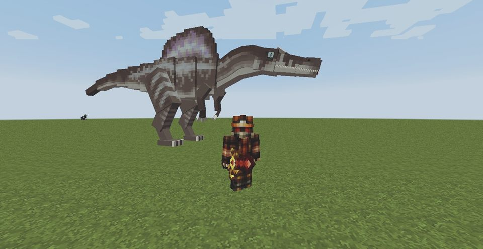 How to tame dinosaurs in minecraft | Dinosaurs mod for Minecraft PE