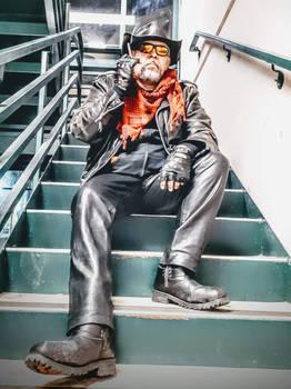 Leather Pants Cowboy