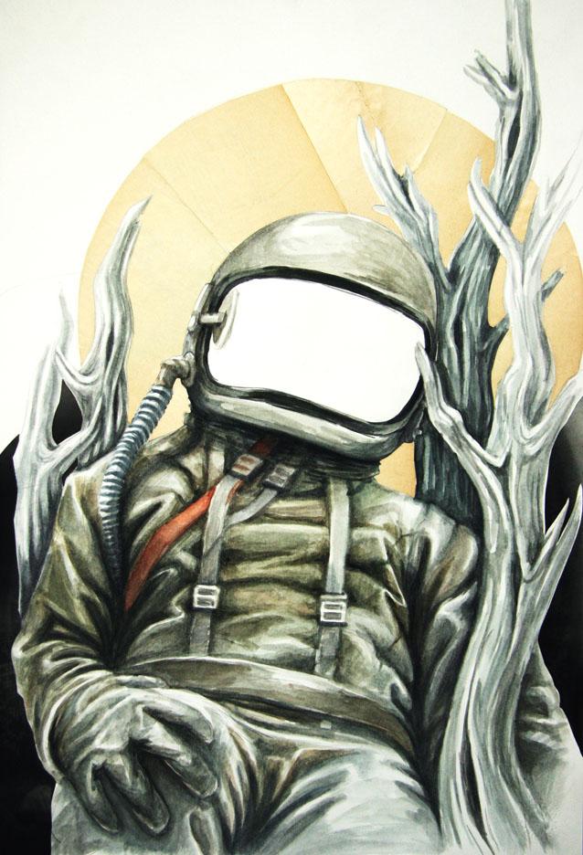 Raumfahrer by Pallala