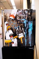 red bull fridge by Pallala