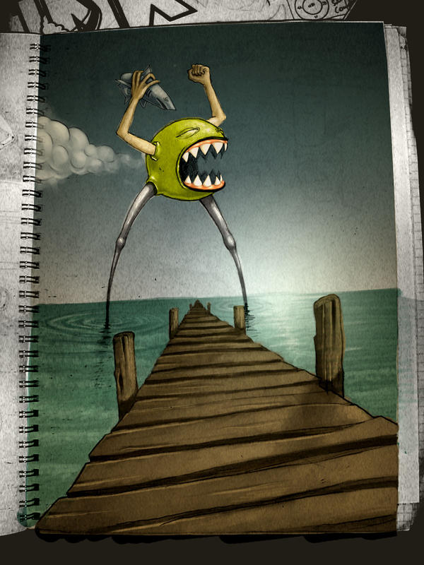 uhh shark by Pallala